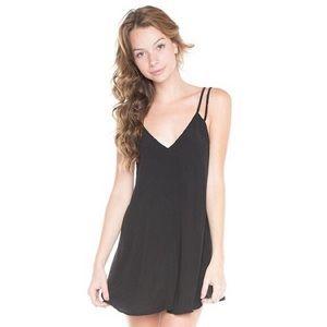 Brandy Melville Black Selda Dress